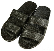 Pali Hawaiian Sandals Black