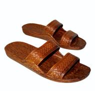 Pali Hawaiian Sandals Brown
