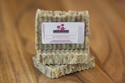 HONEYSUCKLE Exfoliating Coffee Soap bar