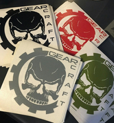 GEARCRAFT LOGO VINYL STICKER