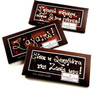 3 Giant Chocolate bars with message/wish 150g  OF YOUR CHOICE [#17-70]