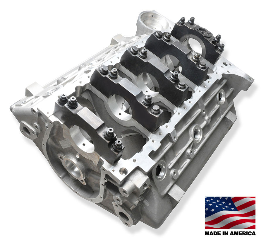 """Bill Mitchell Products Engine Block Aluminum Chevy 409 """"W"""
