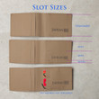 Slim-Fold Wallet Slot Sizes