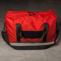 RTS: Weekender Bag, Red/Black