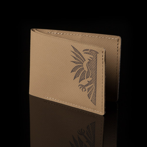 Slim-Fold Wallet, coyote brown, front