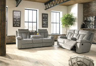 Mitchiner Fog 2 Pc. Reclining Sofa & Loveseat