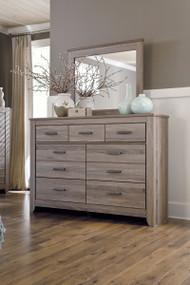 Zelen Warm Gray Dresser