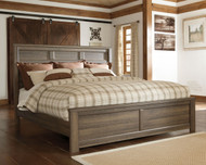 Juararo Dark Brown King/Cal King Panel Headboard