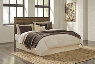 Trinell Brown King/Cal King Panel Headboard