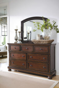 Porter Rustic Brown Dresser