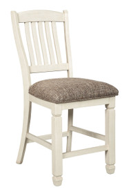Bolanburg Antique White Upholstered Barstool