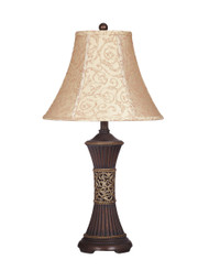 Mariana Bronze Finish Poly Table Lamp