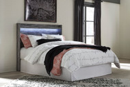Baystorm Gray Queen Panel Headboard