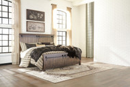 Lakeleigh Brown King Panel Bed