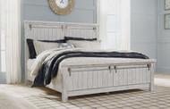 Brashland White Queen Panel Bed