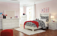 Dreamur Champagne 5 Pc. Twin Panel Bedroom Collection