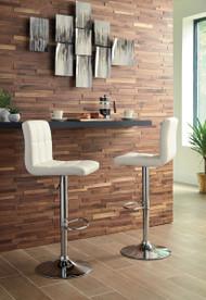 Adjustable Barstools Bone Tall Upholstered Swivel Barstool