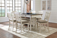 Bolanburg Antique White 7 Pc. Rectangular Counter Height Dining Set