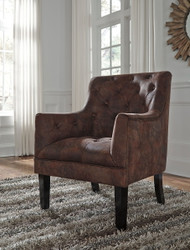Drakelle Mahogany Accent Chair
