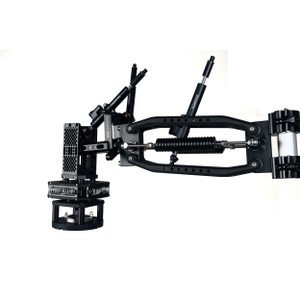 The Black Complete configured with Single Shocks and Single Spring Dampener