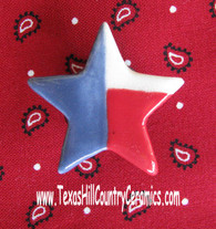 This Texas Lone star shape is a magnetic needle minder with Neodymium Magnet, ideal as a Sewing Accessory and used by Cross Stitch or Embroidery enthusiast.  Made in the USA
