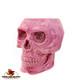 Bright Pink Skull Holder.
