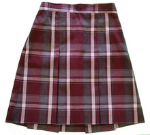 2-Kick Pleat Skirt, Front & Back Half Size