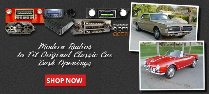 Vintage Car Radio Modern Stereos For Classic Cars
