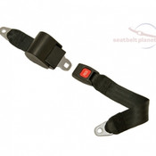 Seatbelt Planet Push Button Traveling Retractable Lap Seat Belt