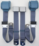 "Pre 1974 3pt Conv. Seat Belts for Mustang 131"" (Call for Prices)"