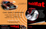 HushMat Ultra Trunk Kit - Silver - Item #10301