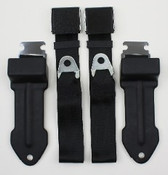 1968-1970 Mopar B Body Bucket Seat Lap Belts