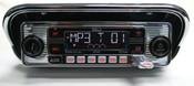 Custom AutoSound USA 4-Din Radio w/68-69 Mustang Din Bezel