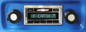 Custom AutoSound 1967-72 Chevy Truck USA-630 In Dash AM/FM