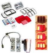 1964-66 Tail Light Rebuild Kit - LED - MP-0005-KIT