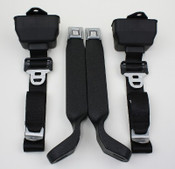 Seatbelt Solutions 1978-79 3pt Frt Bronco Retractable S/L Belts 1