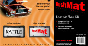 HushMat Ultra License Plate Kit - Item #10600