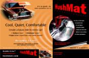 HushMat Ultra Floor/Dash Kit - Silver - Item #10401
