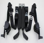Seatbelt Solutions 1980-86 3pt Frt Bronco Retractable S/L Belts