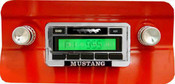 Custom AutoSound 1967-73 Mustang USA-230 In Dash AM/FM