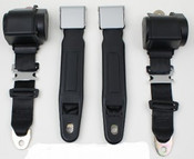 3pt Seatbelt w/Chrome Lift Latch Style
