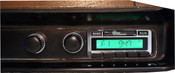 Custom AutoSound 1971-73 Charger USA-230 In Dash AM/FM