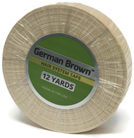 German Brown Liner White Cloth Tape Roll