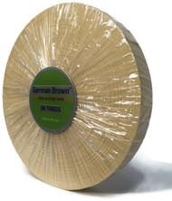 """German Brown Liner Roll 3/4"""" x 36 yards"""