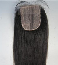 French Lace Closure with Straight Hair
