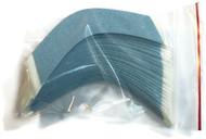 Blue Lace Hairpiece Tape Contour A