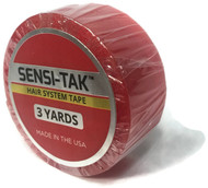 "Sensi-Tak Red Roll 3/4"" x 3 yards"