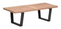 Heywood Single Bench By Zuo Modern