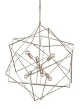 Aerial Chandelier By Currey & Company