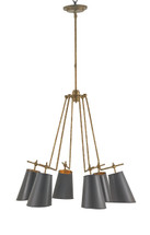 Jean-Louis Chandelier By Currey & Company